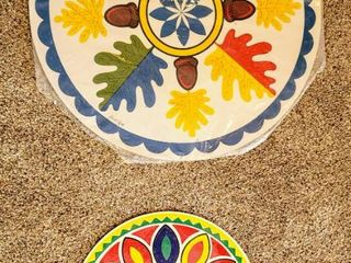 2  Pennsylvania Dutch Hex Folk Art   Jacob Zook