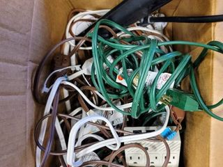 Box Full of Extension Cords