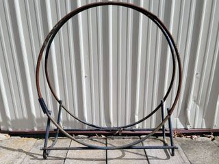 Circular 40  Firewood log Storage Hoop Rack