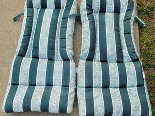 2  Outdoor Chair Cushions