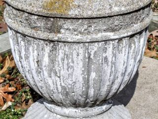 Decorative Concrete Planter Urn 14  T