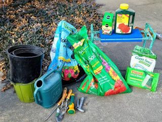 Gardener s lot   Gardening soil  Plant Food  Gardener s bench  Tools   more
