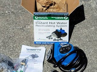 Watts 500800 Instant Hot Water Recirculating Pump System with 24 Hr Timer