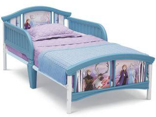 Toddler Disney Frozen 2 Plastic Bed   Delta Children