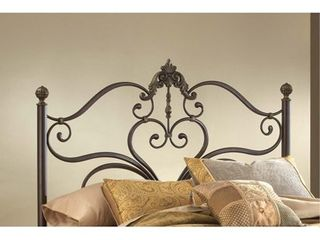 Newton Queen Bed  Antique Brown Highlight Finish