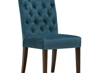 Dinning room chairs blue cloth