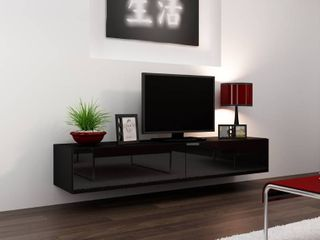 Floating tv stand for up to 75in