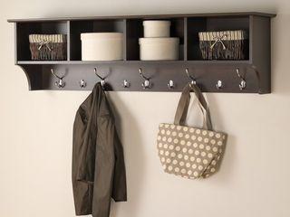 60in hanging entryway shelf
