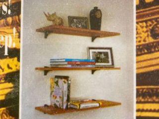 Daskeika glass accent shelfs