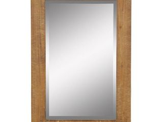Morris Wall Mirror   Nutmeg 30in x 20in by Aspire