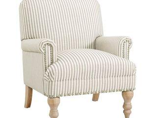 Dorel living Jaya Accent Chair  Beige