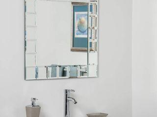 Montreal Square Bathroom Mirror   Silver   27 5Hx27 5Wx 5D Retail 157 49