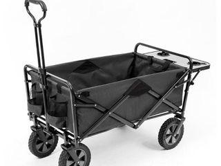 Mac Sports Collapsible Folding Garden Utility Wagon Cart