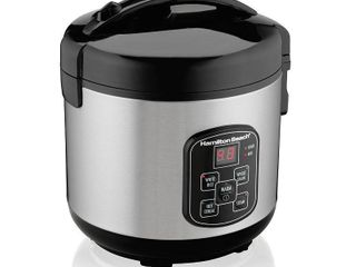 Hamilton Beach 8Cup Programmable Rice Cooker Steamer