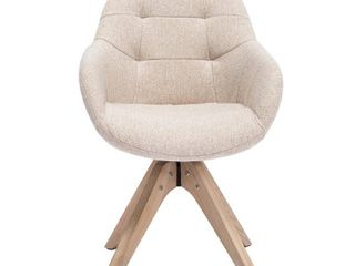 Swivel Armchair Fabric Accent Chair