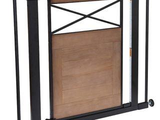 Safety 1st Easy Install Modern Farmhouse Gate