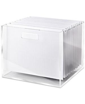 Russell   Hazel Acrylic File Box