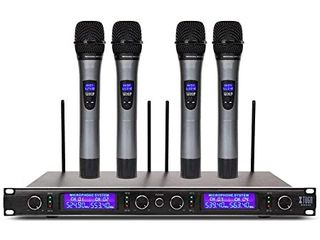 XTUGA Wireless Microphone System w  4 Microphones