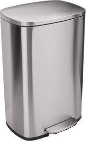 Stainless Steel Step Trash Can SEE DESCRIPTION