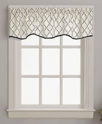 Chf Morocco Scallop Window Valances SET OF 2