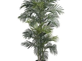 Silk Golden Cane Palm Tree