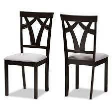 Copper Grove Cyril Contemporary Fabric Finished Dining Chairs SET OF 2