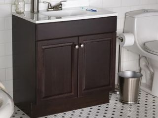 Project Source Java Finish Vanity w  Top SEE DESCRIPTION