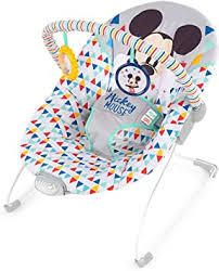 MICKEY MOUSE Happy Triangles Cradling Bouncer