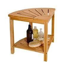 Zhuoyue Corner Shower Bench Table