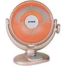 Optimus Oscillating Radiant Dish Heater