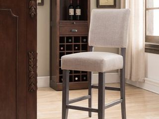 Heather Upholstered Counter Height Stools SET OF 2
