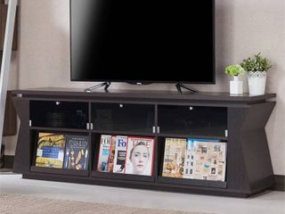 Furniture of America Samn Contemporary Wooden TV Stand SEE DESCRIPTION
