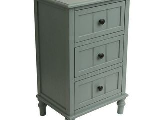 Copper Grove Hoxie 3 Drawer Accent Table