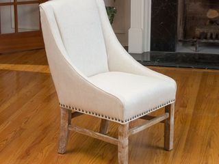 James Upholstered Fabric Dining Chair by CKH