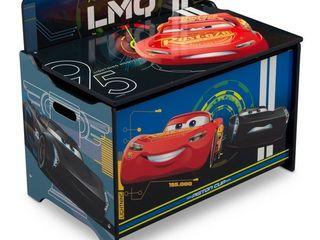 Disney Pixar Cars Deluxe Wood Toy Box