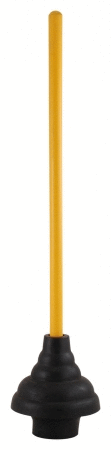 lDR Power Deluxe High Force Cup Ribbed Toilet Plunger