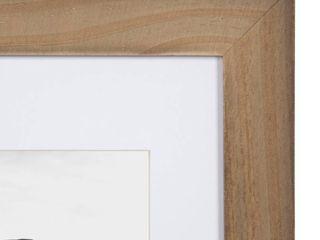 UNIEK INC Wooden Picture Frame w  Matte