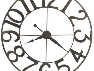 Howard Miller Felipe Industrial Abstract Modern Wall Clock