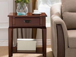 KD Furnishings Wooden Side Table