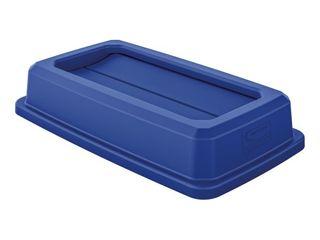 Slim Double Flip Trash Can lid