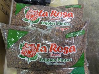 lot of la Rosa Pinto Beans