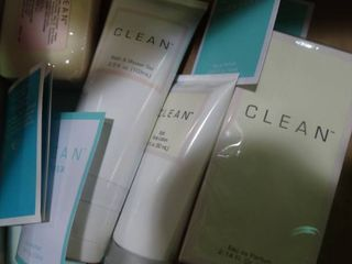 lot of  Clean  Self Care Products