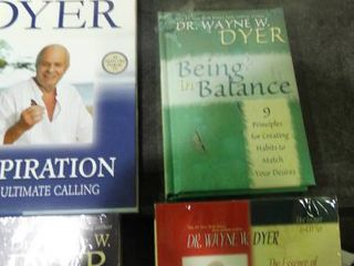 lot of Dr  Wayne W  Dyer Self Help Media