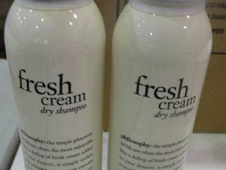 lot of Fresh Cream Dry Shampoo