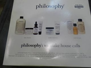 lot of Philosophy Cosmetic Products