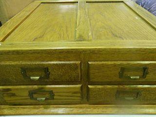 Wooden 4 Drawer Organizer
