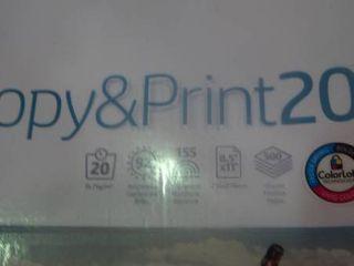 HP Printing Copy   Print 20 Printer Paper