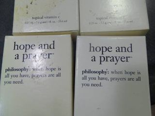 lot of  Hope and a Prayer  Topical Vitamin C