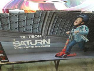 Saturn 3 Wheel light Up Kick Scooter