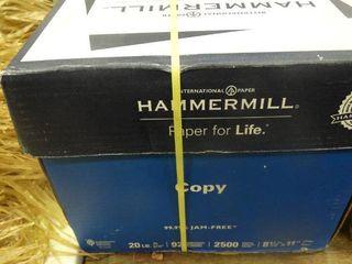 Box of Hammermill Printer Paper